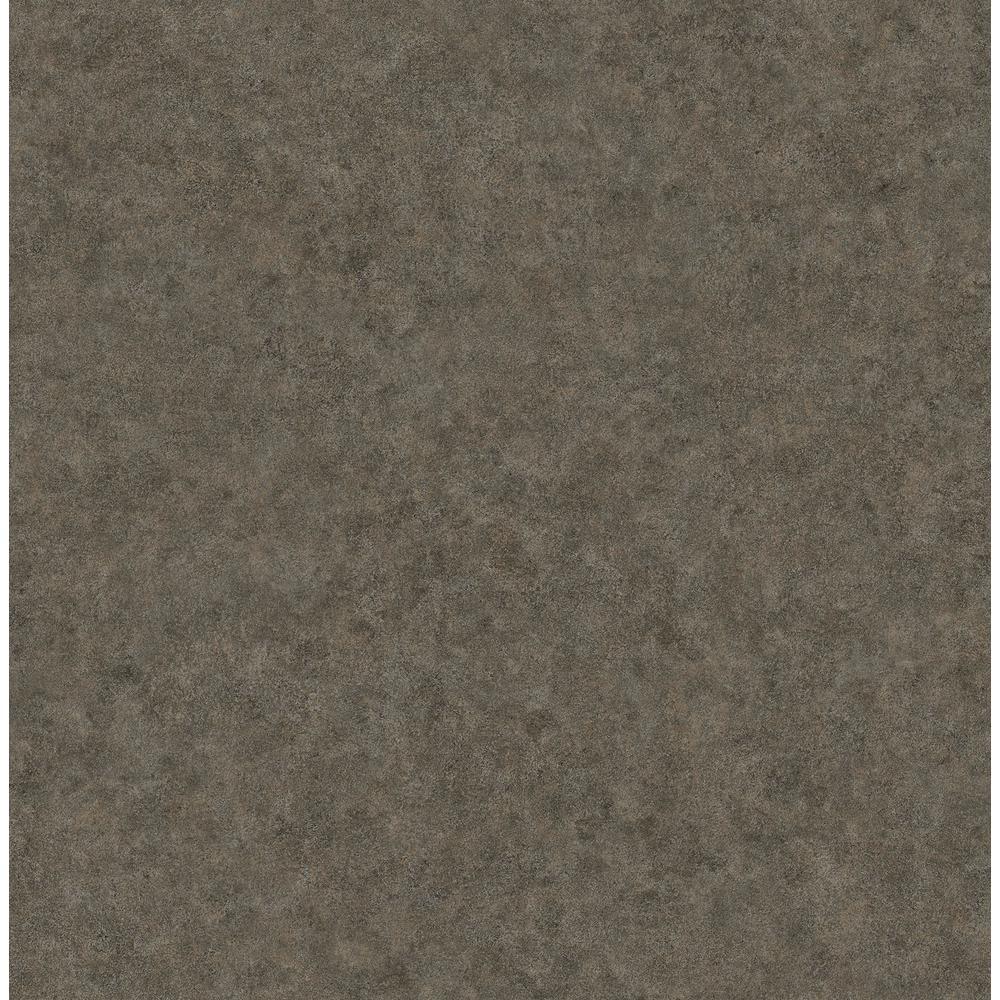 Cielo Brown Distressed Texture Wallpaper Sample