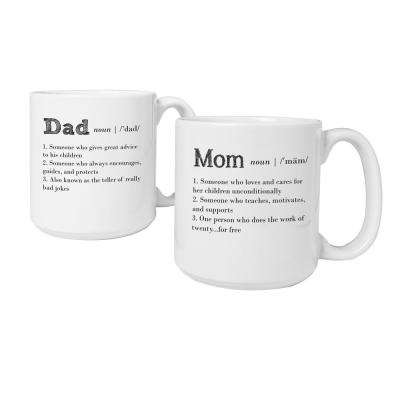 Parent Definition 20 oz. Large Coffee Mugs (set of 2)