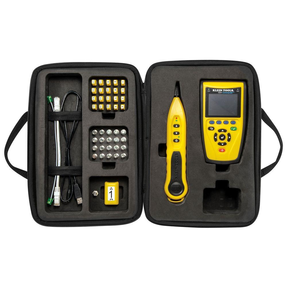 Klein Tools VDV Commander Test and Tone Kit-VDV501-829 - The Home Depot