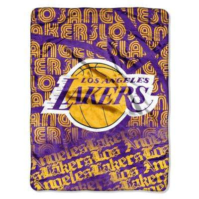 Lakers Multi-Color Redux Polyester Micro