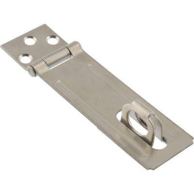 4-1/2 in. Stainless Steel Fixed Staple Safety Hasps (3-Pack)