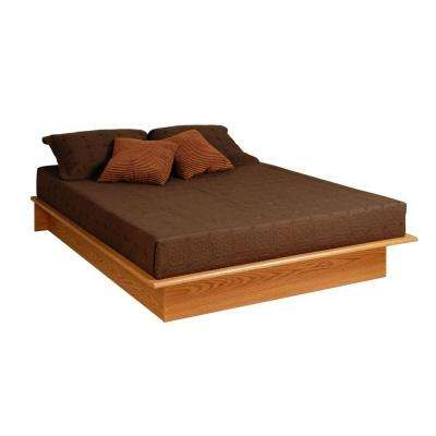 Full Wood Platform Bed