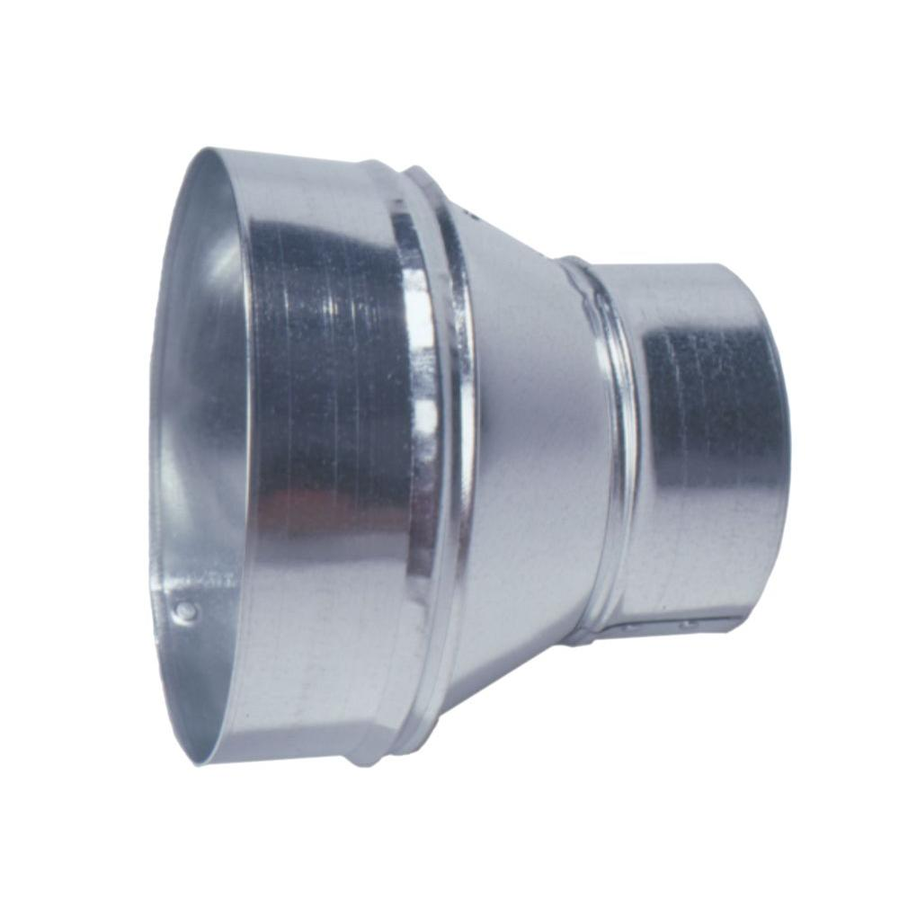 Round Reducer Galvanized Steel Increase Decrease Pipe Size HVAC Universal NEW