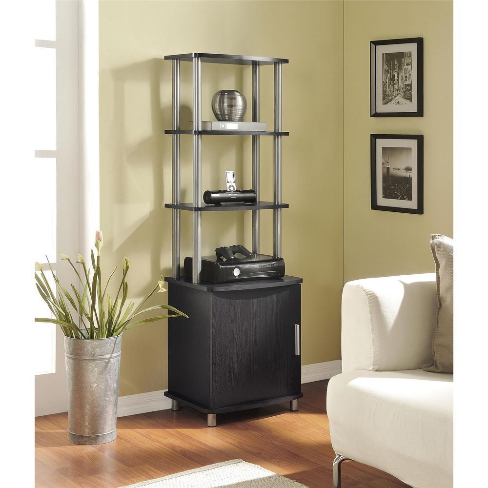 Altra Furniture Altra Carson Espresso Audio Tower 1311096   The Home Depot