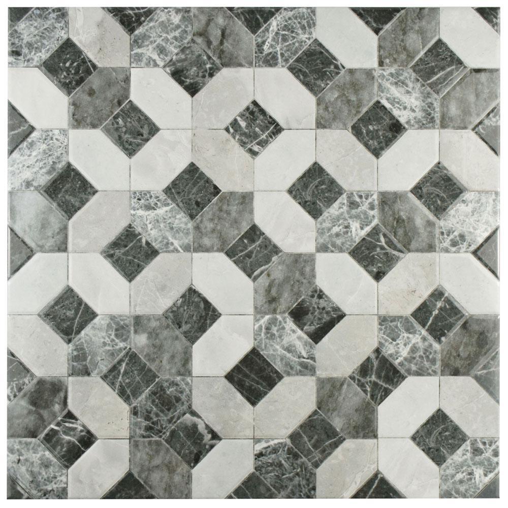 merola tile caprice marmol gris 17 34 in x 17 3 - Marmol Gris