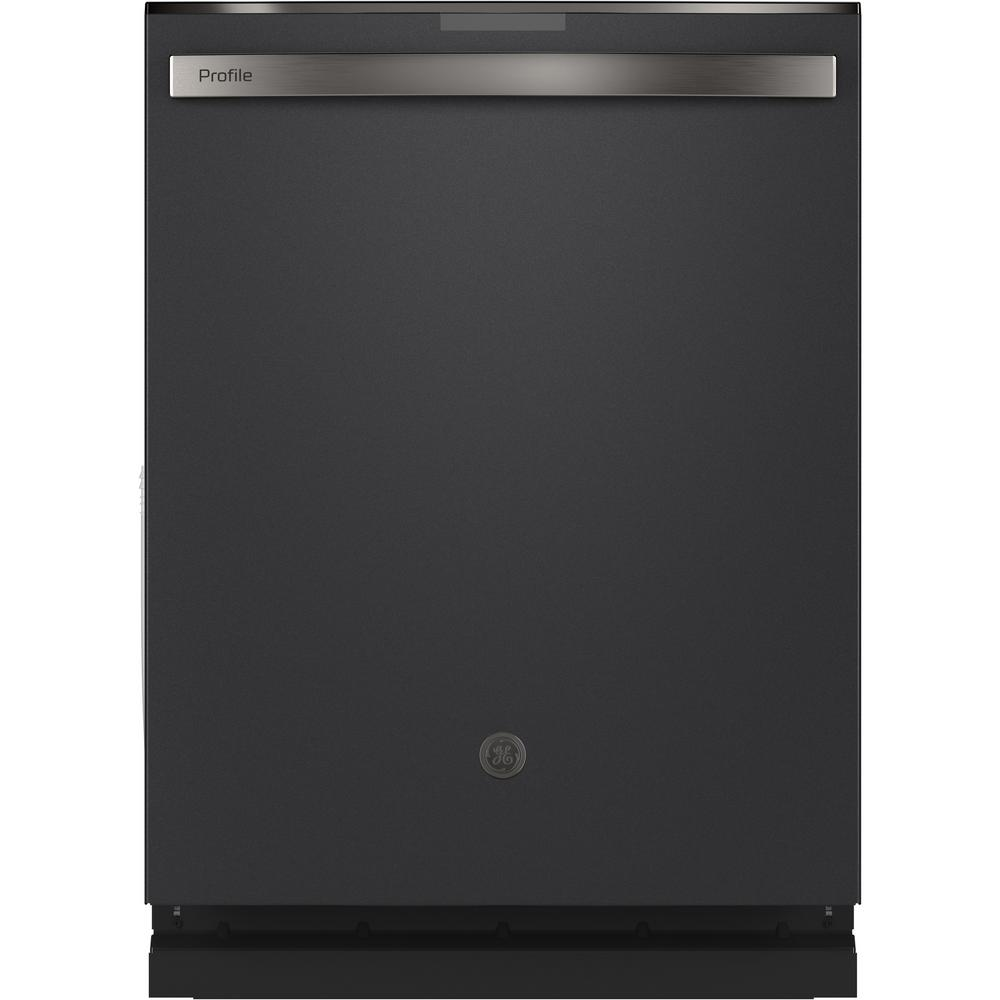 GE Profile Top Control Tall Tub Dishwasher in Black Slate with Stainless Steel Tub and Steam Cleaning,  45 dBA