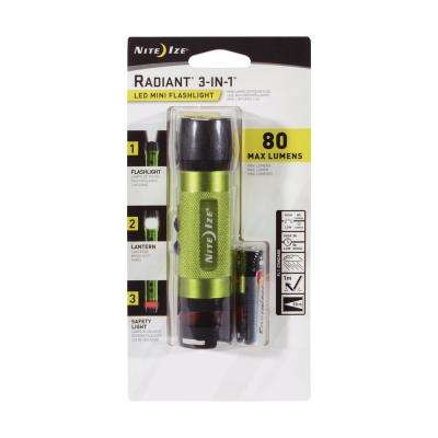 3-in-1 LED Mini Flashlight Lime