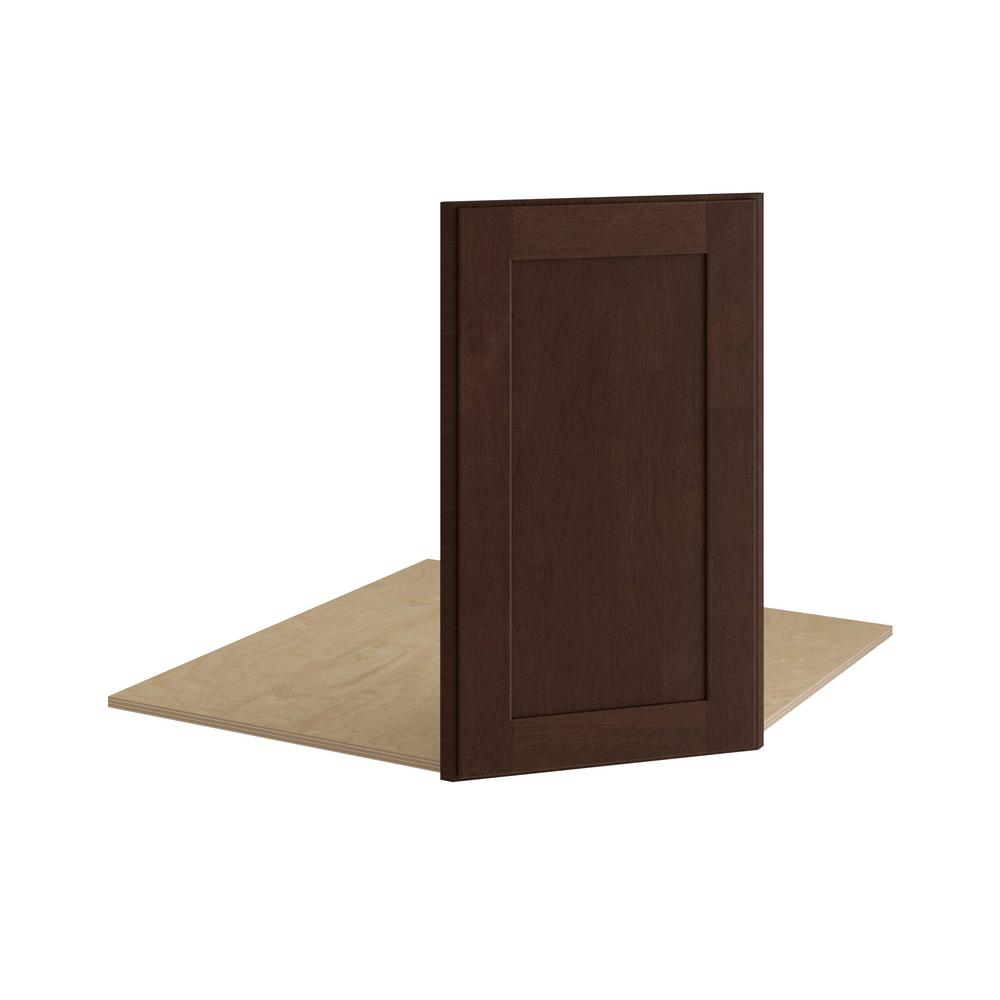 Kitchen Sink Cabinets Home Depot: Home Decorators Collection Franklin Assembled 17x30x1 In