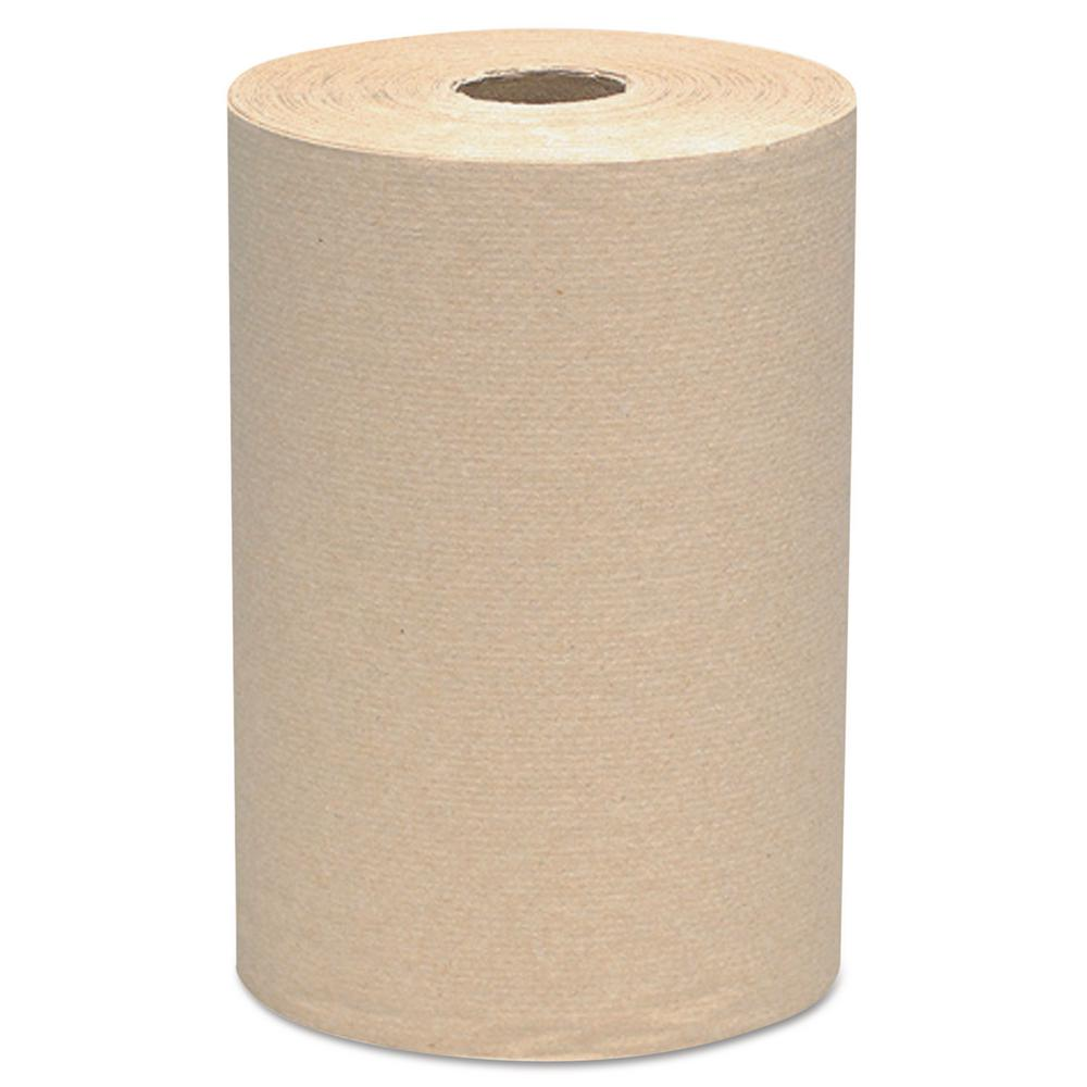 Scott Paper Towels: Scott 8 X 800 Ft. Hard Roll Towels, 2 In. Core, Brown