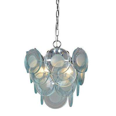 4-Light Chrome Chandelier
