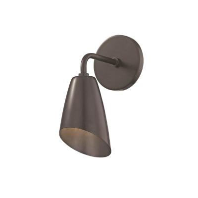 Kai 1-Light Old Bronze 10.25 in. H LED Wall Sconce