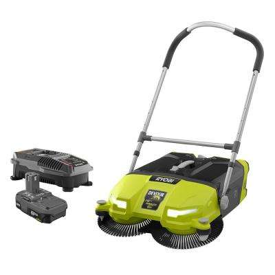 18-Volt ONE+ Lithium-Ion Cordless 4.5 Gal. DEVOUR Debris Sweeper Kit with (1) 1.5 Ah Battery and 18-Volt Charger