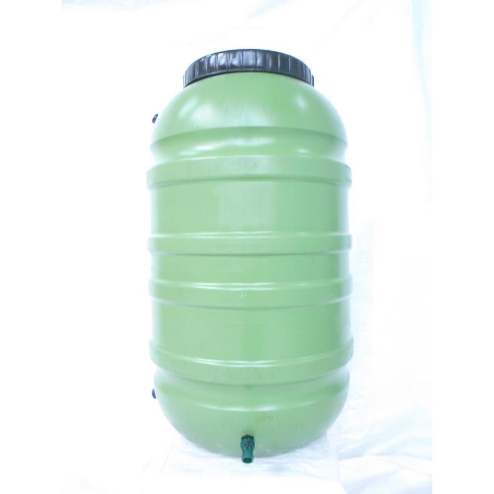 55 Gal. Green Rain Barrel