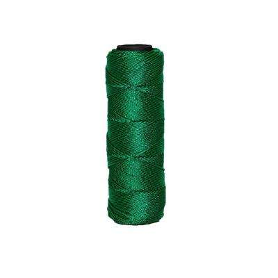 3 in. x 1000 ft. Green Braided Nylon Line #18