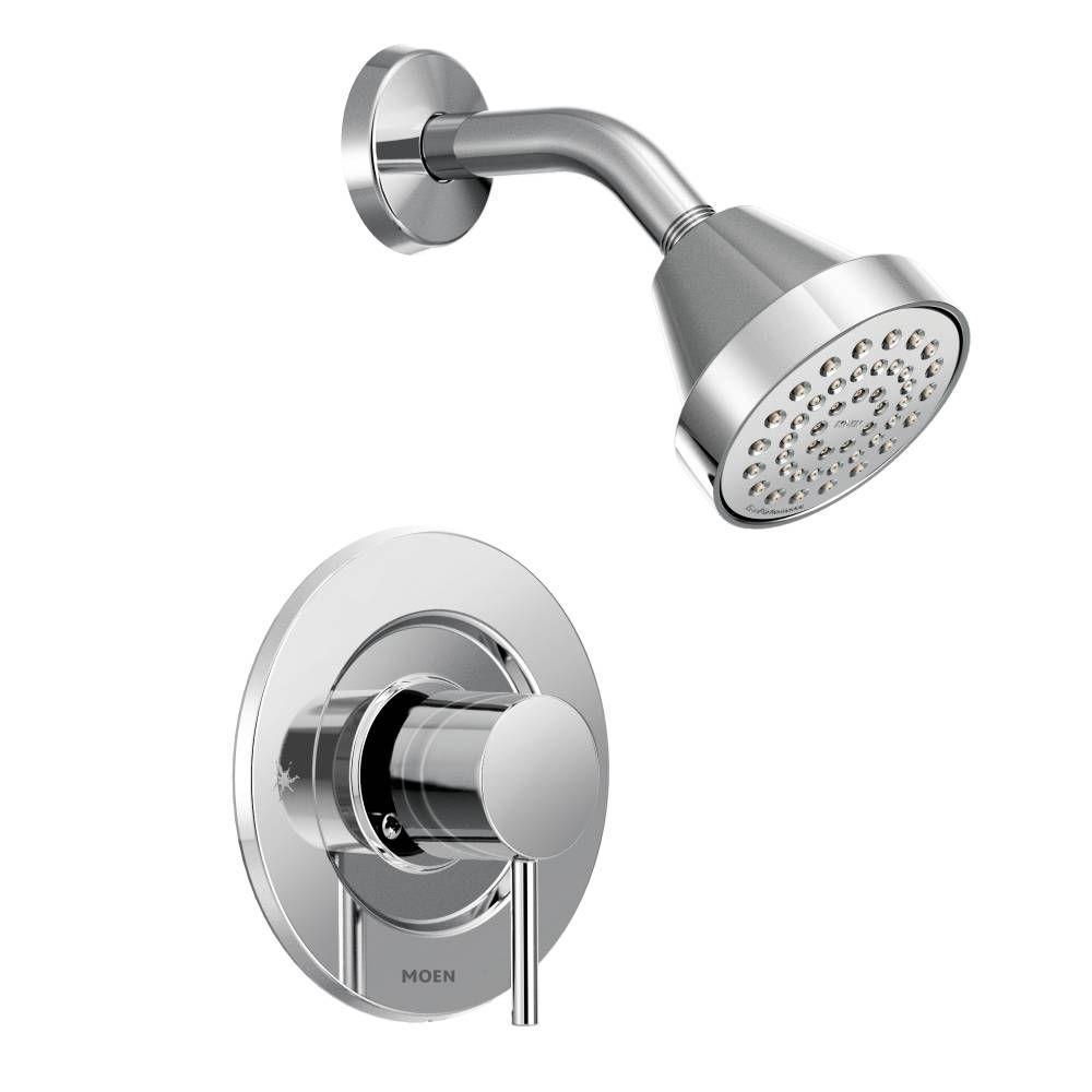 MOEN Align 1-Handle Posi-Temp Shower Faucet Trim Kit in Chrome (Valve Not Included)