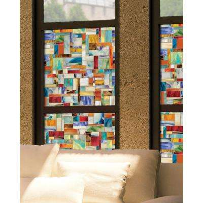 24 in. x 36 in. Montage Decorative Window Film