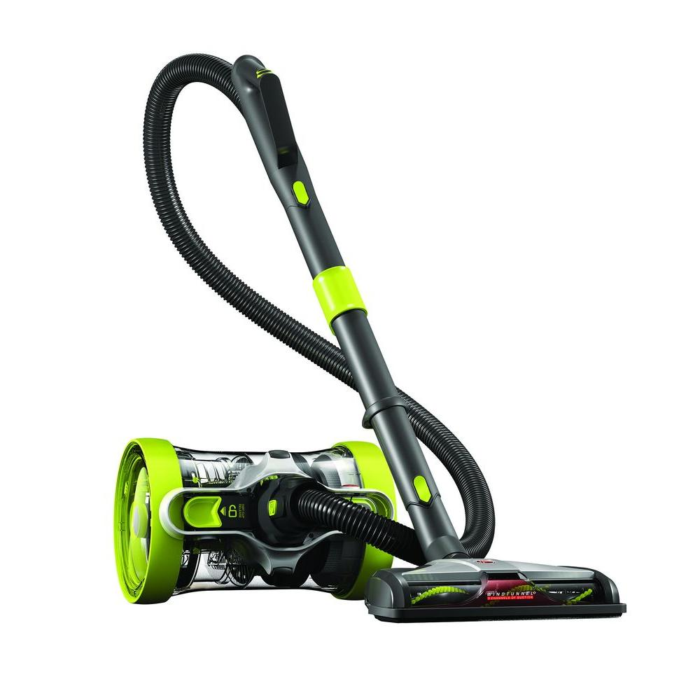Hoover Air Cleaners : Hoover air revolve multi position bagless canister vacuum