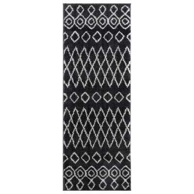 United Weavers Tranquility Tully Smoke 2 ft. 7 in. x 7 ft. 2 in. Runner Rug