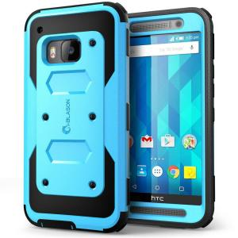 i-Blason Armorbox Full-Body Case for HTC One M9, Blue by i-Blason