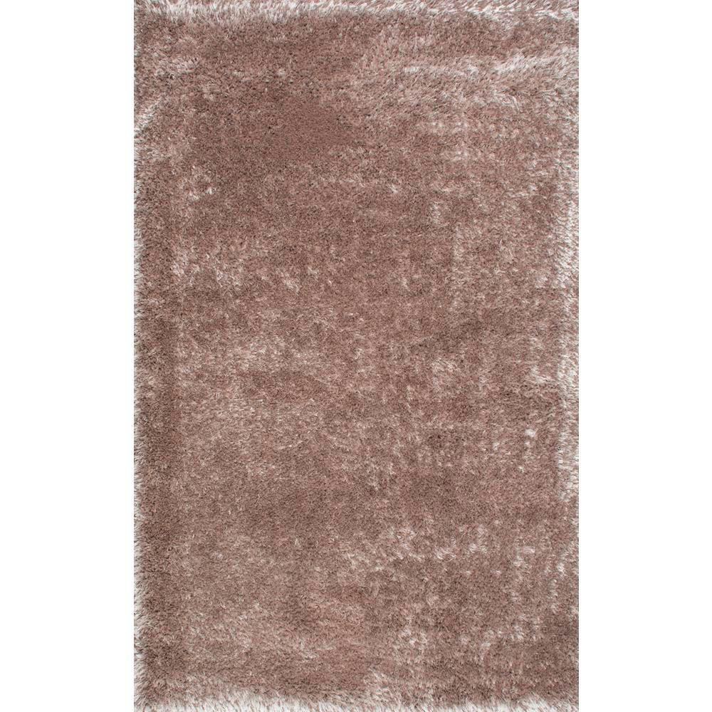 nuLOOM Millicent Shaggy Taupe (Brown) 5 ft. 3 in. x 7 ft....