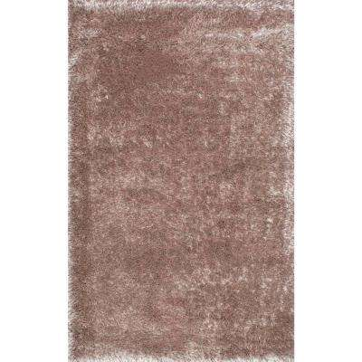 Millicent Shaggy Taupe 8 ft. x 10 ft. Area Rug