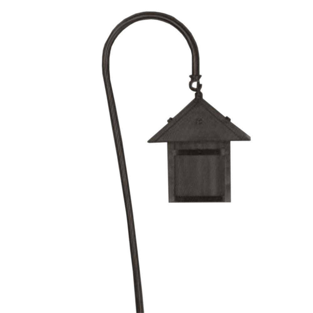 Centennial Black Textured Outdoor LED Path Light