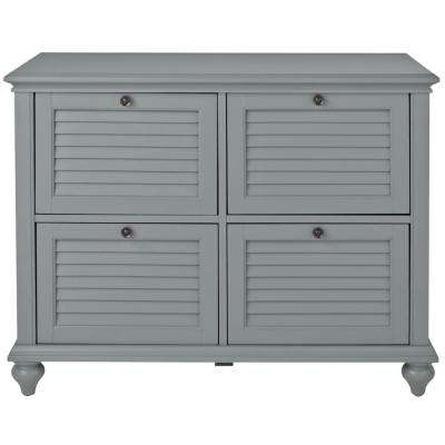 Hamilton Grey 4-Drawer File Cabinet