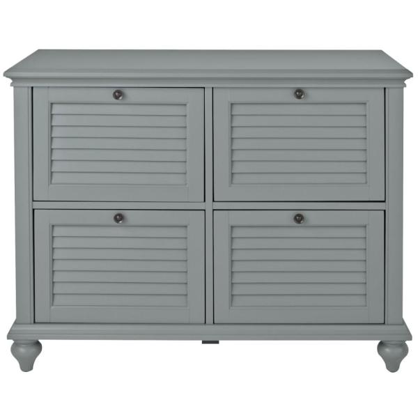 Hamilton Grey 4 Drawer File Cabinet
