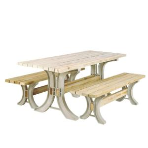 Picnic Table Kit in Sand by