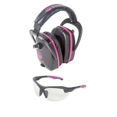 Conix Women's Ballistic Muff and Glasses Combo