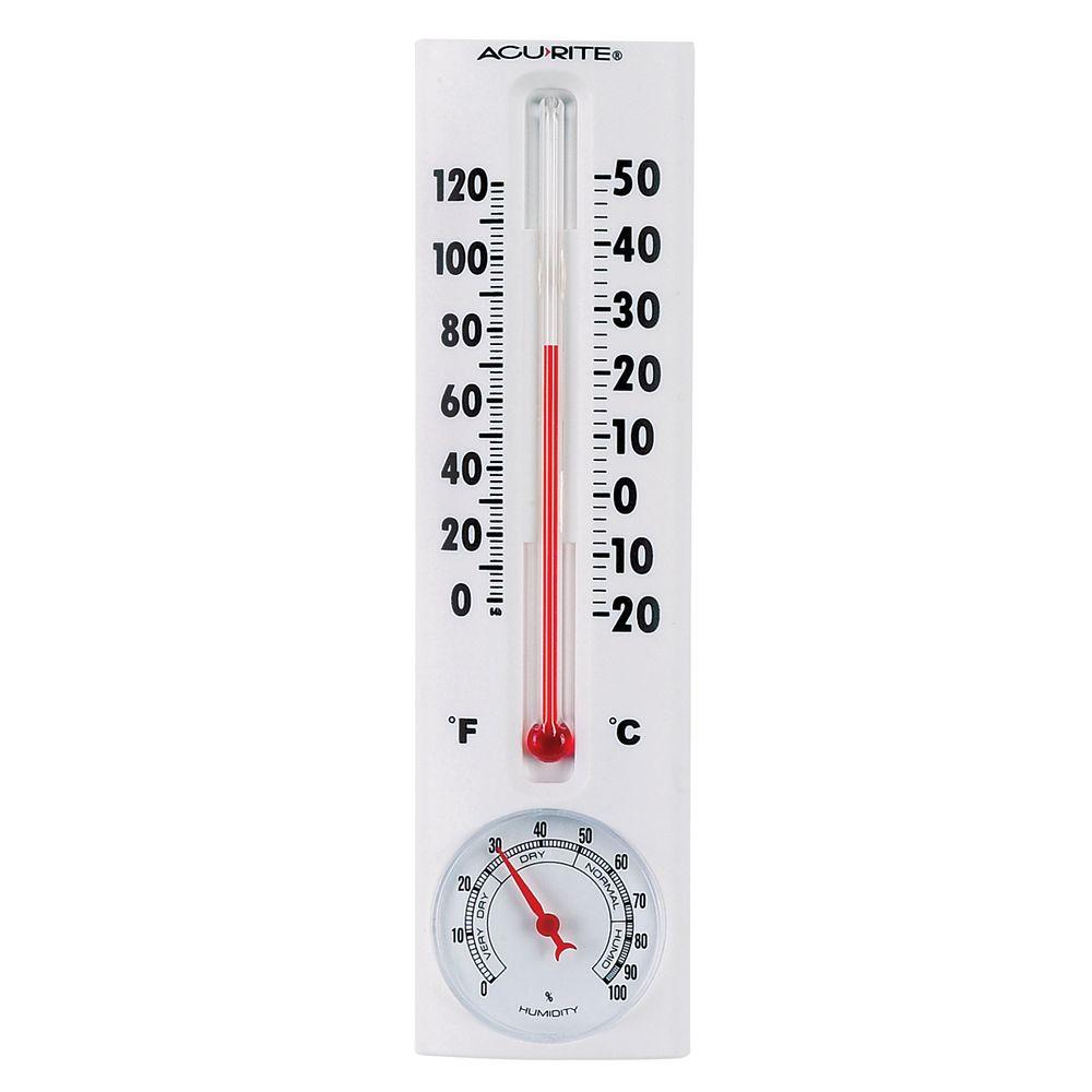 AcuRite Thermometer with Humidity-00339HDSBA2 - The Home Depot d57577cc6d57e