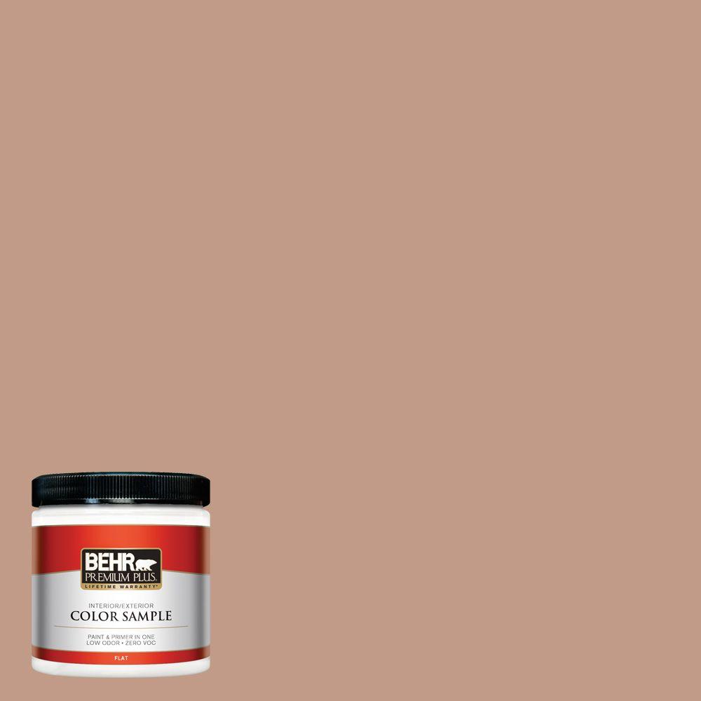 8 oz. #S200-4 Chestnut Bisque Interior/Exterior Paint Sample