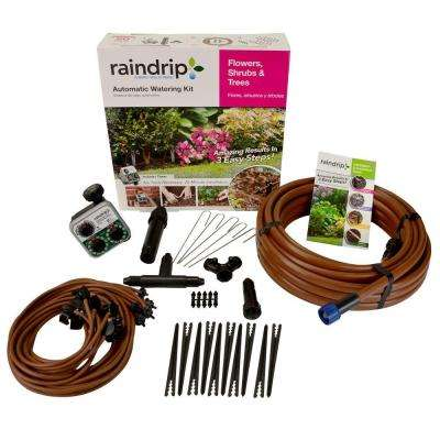 Flower, Shrub and Tree Drip Watering Kit