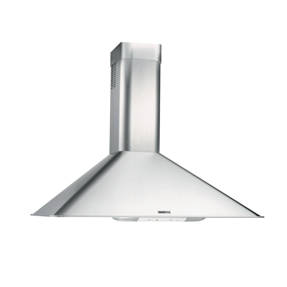 Broan Elite Rm50000 36 In Convertible Wall Mount Range Hood With Light Stainless Steel