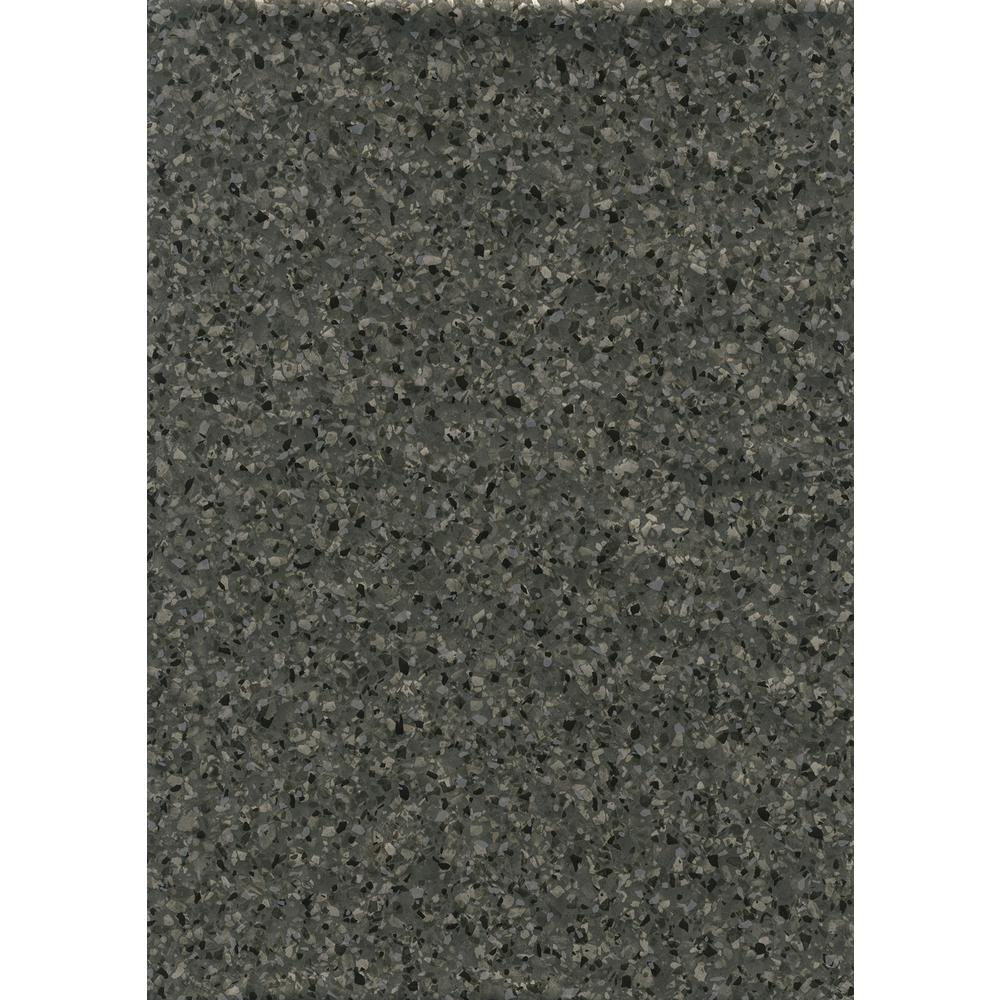 Terrazzo Silver Anthracite Wall Adhesive Film (Set of 2)