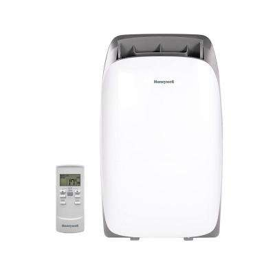 HL Series 12,000 BTU, 115-Volt Portable Air Conditioner with Dehumidifier and Remote Control in White and Gray