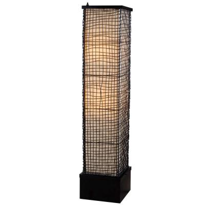 Trellis 51 in. Bronze Outdoor Floor Lamp