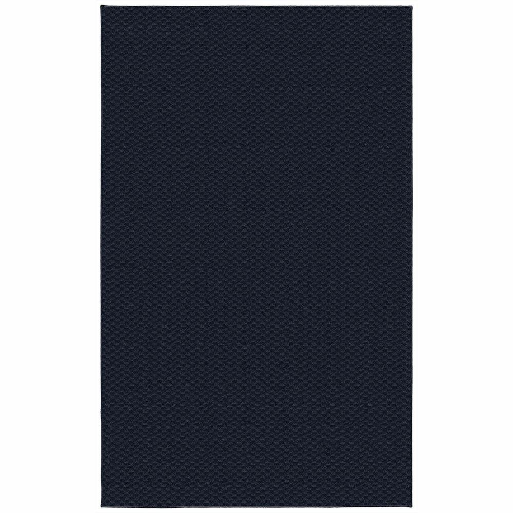 Garland Rug Medallion Navy 9 Ft X 12 Ft Area Rug Ma 00