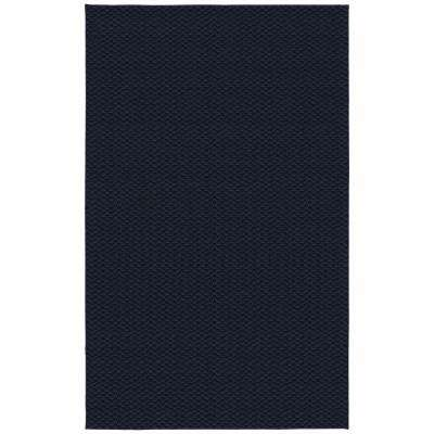 Medallion Navy 9 ft. x 12 ft. Area Rug