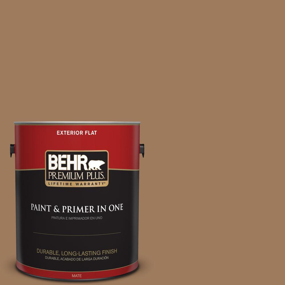 BEHR Premium Plus 1-gal. #N270-6 Westminster Flat Exterior Paint
