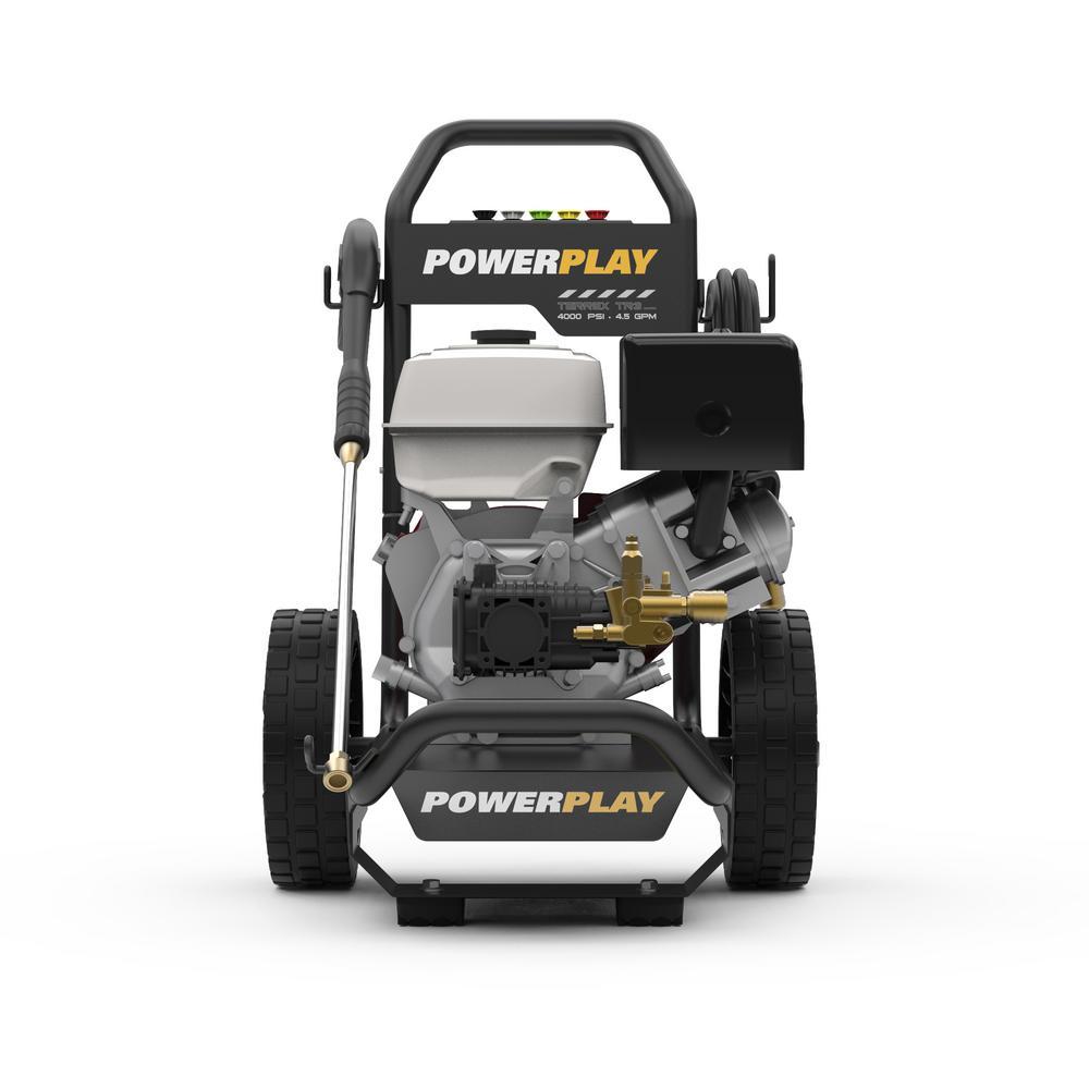 Powerplay Honda GX390 4000-PSI 4.5 GPM Terrex Annovi Reverberi Triplex Pump Gas Pressure Washer by Powerplay