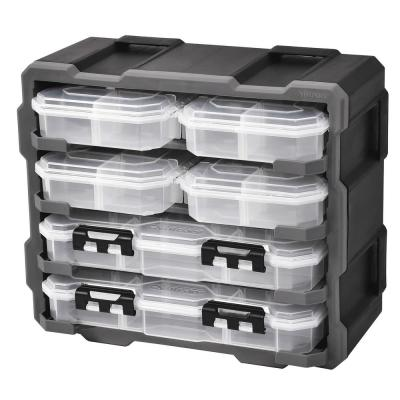 38-Compartment Rack with 6 Small Parts Organizer