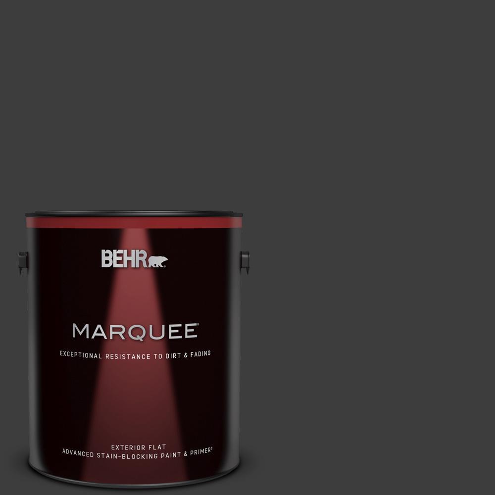 Behr Marquee 1 Gal Black Matte