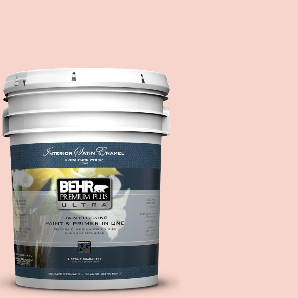 5-gal. #P180-1 Deco Shell Satin Enamel Interior Paint