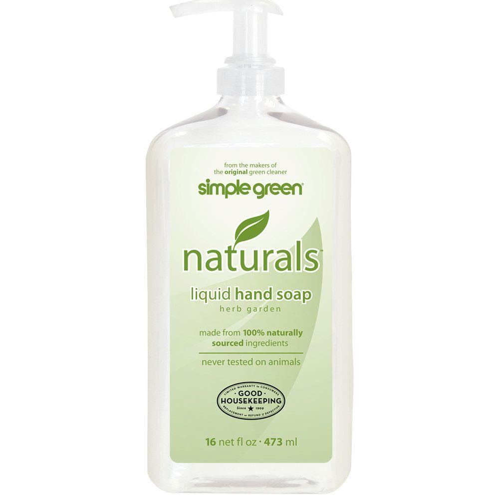 Simple Green 16 oz. Naturals Liquid Hand Soap (Case of 12)-DISCONTINUED