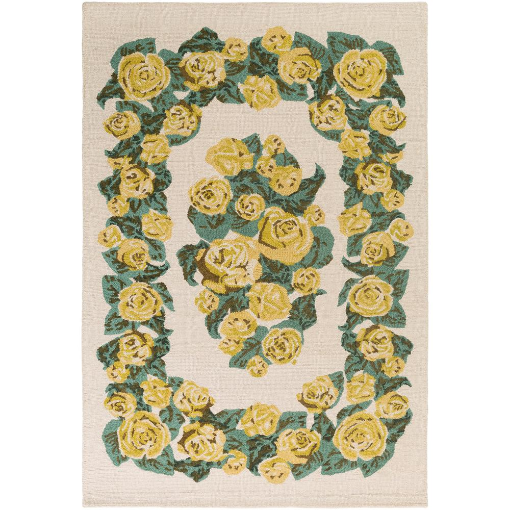 Botany Gianna Gold 4 ft. x 6 ft. Indoor Area Rug