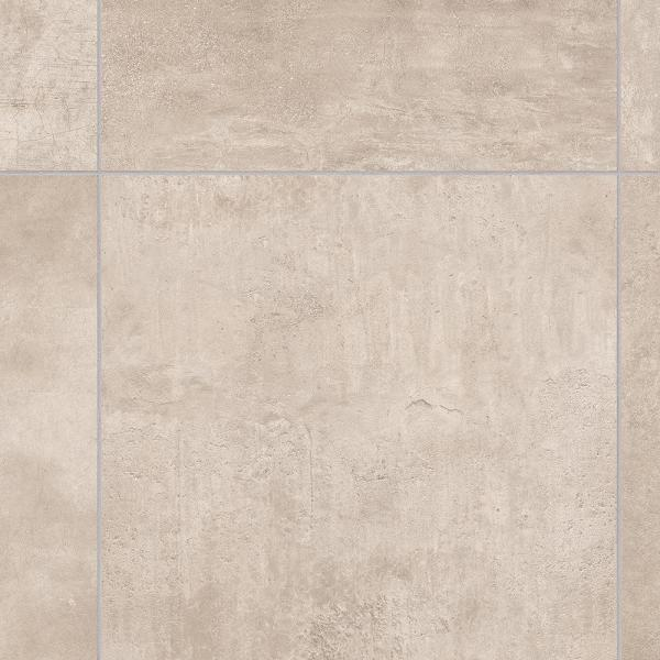 Brushed Limestone Neutral Stone Residential Vinyl Sheet Flooring 12ft. Wide x Cut to Length