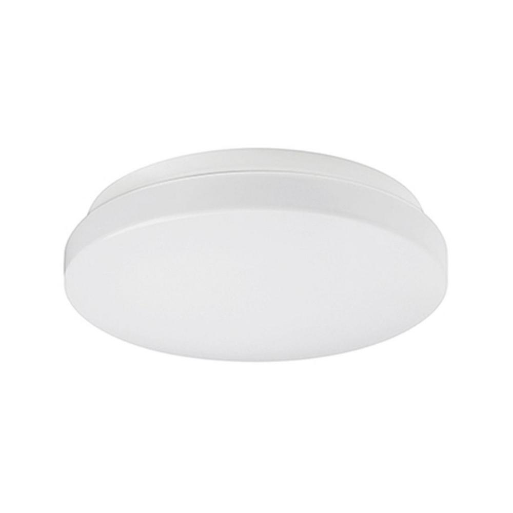 Radionic Hi Tech Rochester White 40-Watt Equivalence Integrated LED Ceiling Flush Mount