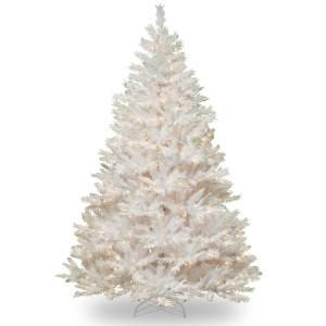 winchester white pine tree with clear lights - 75 White Christmas Tree