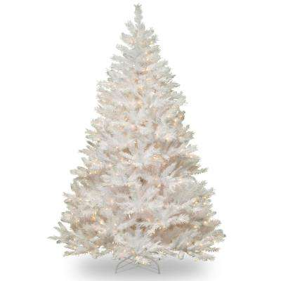7.5 ft. Winchester White Pine Tree with Clear Lights